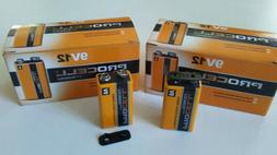 24 Pack 9V Duracell ProCell Batteries PC1604 - March 2021 NE