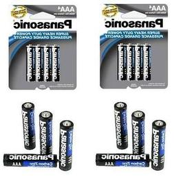 24 PACK Panasonic AAA Super Heavy Duty Batteries Triple A Ba