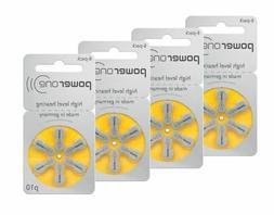 24 Pcs PowerOne Hearing Aid Batteries 1.45V Size 10 P10 PR70