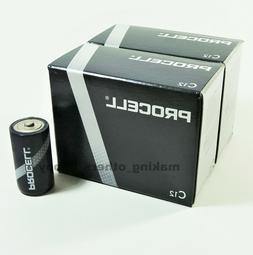 24 Duracell Procell C Alkaline Batteries