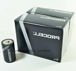 24 Duracell Procell D Alkaline Batteries