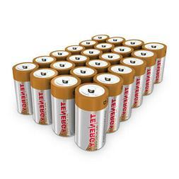Tenergy 24PCS 1.5V D Size LR20 Alkaline Batteries Replacemen