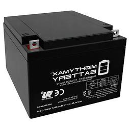 Mighty Max Battery 12V 26AH Battery Replacement for Odyssey
