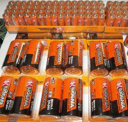 274 Batteries bulk lot pack 12D+12C+10 9volt +120AA +120AAA