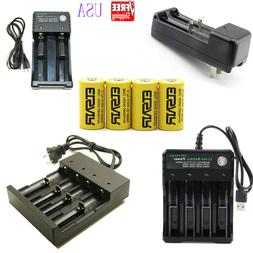 2800mAh Rechargeable 16340 Battery CR123A 3.7V Li-ion Batter
