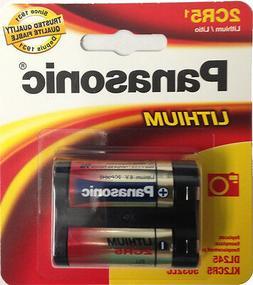 Panasonic 2CR5 6V Lithium Photo Battery, DL45, KL2CR5, 5032L