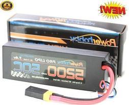 Powerhobby 2s 7.4v 5200mah 50c Lipo Battery W Traxxas Plug A