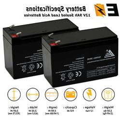 2pk_12V 9Ah Battery for APC BACK-UPS XS1500 RBC109 PS-1290 R