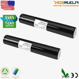 2x 3000mAh 3.6V Ni-MH Battery For Maglight ST75175 ST25170 S