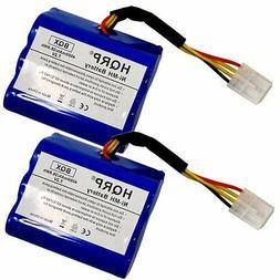 2x 7 2v 4000mah battery for neato