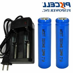 2x AAA ICR 10440 Rechargeable Lithium Li-ion 350mAh Battery