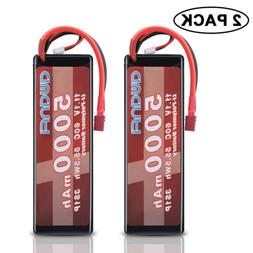 2x3S 11.V 5000mAh 60C Lipo Battery Hardcase with Deans For T