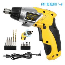 3.6V Electric Cordless Screwdriver Household Battery Drill D