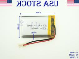 3.7V 1800mAh 103450 Lithium Polymer LiPo Rechargeable Batter
