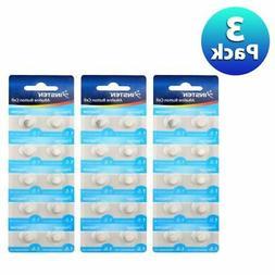 3 Pack AG3 L736 G3 G3A V3GA V36A GP192 Button Coin Cell Alka