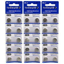 30 pcs ~ AG10 button cell alkaline batteries coin watch calc