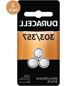 Duracell 303/357 1.5V Silver Oxide Battery