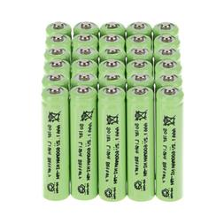 30pc AAA 600mAh 1.2V Triple A NIMH Rechargeable Battery Gard