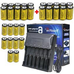 30x3.7V CR123 Li-Ion Rechargeable Batteries Kit for Netgear