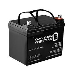 Mighty Max Battery 12V 35AH SLA Battery for GOAL ZERO YETI 4