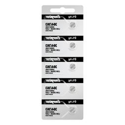 Energizer 364 363 Silver Oxide Coin Cell Batteries 5 Pack Te