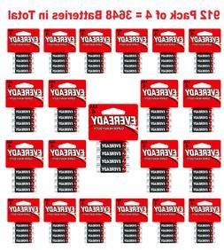 3648x Eveready AAA Batteries Super Heavy Duty Carbon Zinc Fr