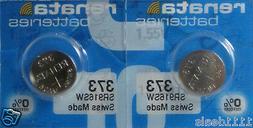 373 Renata Watch Battery SR916SW 2 Batteries