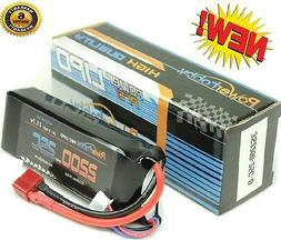 Powerhobby 3S 11.1V 2200mAh 25C Lipo Battery Pack w Deans Pl