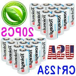 Tokeyla 3V CR123A 123 123A CR17345 3 Volt Lithium Batteries