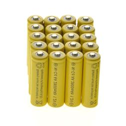 4-20 AA Rechargeable Batteries Ni-Cd 2800mAh 1.2v Garden Sol
