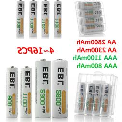 EBL Lot AA AAA NI-MH Rechargeable Batteries 2800mAh 2300mAh