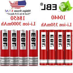 Lot 4/8/12/16/20 Pack 18650 10440 3000/350mAh Li-ion 3.7V Re
