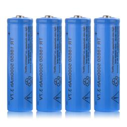 4/8Pcs BRC TR 18650 5000/6800mAh Rechargeable Battery 3.7V H