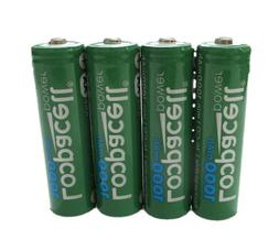 4 Loopacell AA Ni-CD 1000mAh 1.2V Rechargeable for Solar Lig