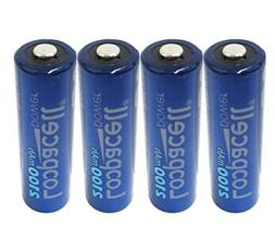 4 Loopacell AA Rechargeable Precharged Ni-MH 2100mAh Batteri