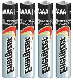 4 Battery Energizer AAAA E96 1.5V Alkaline Replaces E96, LR8