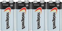 4 Energizer Max 9V 9 Volt Alkaline Battery 522 1604 Bulk EXP