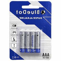 4-PACK AAA TRIPLE A HEAVY DUTY BATTERIES - BlueDot Alkaline