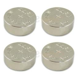4 PACK NEW Battery Coin Cell Button 1.5V 303 357 A76 AG13 LR