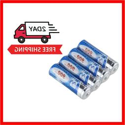 4 Pack Rechargeable Battery 1.2V Ni-Cd AA 900mAh For Outdoor