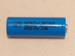 4 pc EASTAR IFR 14430 3.2v LiFePO4 RECHARGEABLE BATTERY 400m
