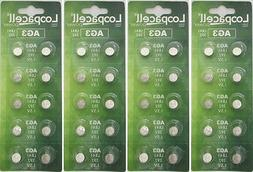 40 LOOPACELL AG3 LR41 Button Cell Coin Alkaline Batteries