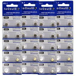 40 AG4 377 377A LR626 SR66 1.5 Volt Alkaline Button Cell Wat