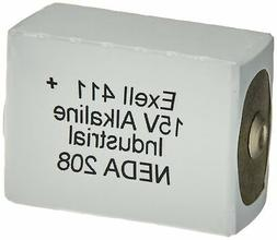 Exell Battery 411A Alkaline 15V Battery, Replaces NEDA 208,