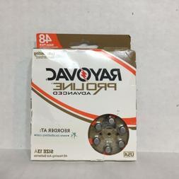 48 Value Pack RAYOVAC Proline Advanced Sz 13A Hearing Aid Ba