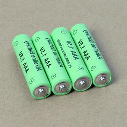 4PCS 1.5V AA Alkaline Rechargeable Batteries  for toy camera