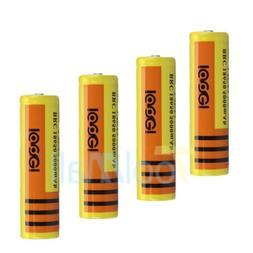 4pcs 18650 Battery 5000mAh Li-ion 3.7V Lithium Rechargeable