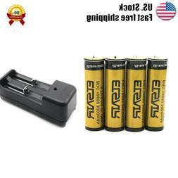 4pcs Rechargeable battery 3000mah  18650 3.7v li-ion-lithium