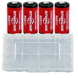 4x Surefire CR123A Lithium Batteries 3 Volts EXP. 11/2027 *M