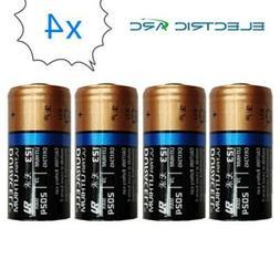 4x Duracell CR123A CR17345 DL123A 123A CR123 3V Ultra Lithiu